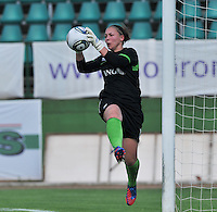 Hungary - Hongarije : UEFA Women's Euro Qualifying group stage (Group 3) - 20/06/2012 - 17:00 - szombathely  - : Hungary ( Hongarije ) - BELGIUM ( Belgie) :.Kelly Ickmans.foto DAVID CATRY / JOKE VUYLSTEKE / Vrouwenteam.be.