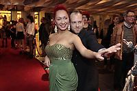 October 22, 2013 File Photo - Elizabeth Blouin-Brathwaite <br /> on the red carpet of ADISQ l'autre Gala at Place-des-Arts.