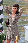 78th Venice Film Festival  at the Lido in Venice, Italy on September 7, 2021. Celebrity Sightings, Rosa Palasciano