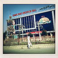 The exterior of the Kabul Paris Wedding Hall.