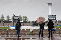 Play abandoned for the day at the Hampshire Bowl during India vs New Zealand, ICC World Test Championship Final Cricket at The Hampshire Bowl on 21st June 2021