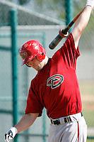 Cole Gillespie - Arizona Diamondbacks 2009 Instructional League .Photo by:  Bill Mitchell/Four Seam Images..