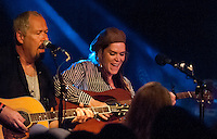 Beth Hart with Jon Nichols performing at The Webster Music Hall in New York City. This is Beth's first performance in ten years. Two stellar shows were sold out in minutes. June 8, 2012. © Rocco Coviello/MediaPunch Inc. NORTEPHOTO.COM,NORTEPHOTO.COM