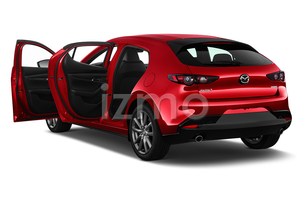 Car images close up view of a 2019 Mazda Mazda-3 Style 5 Door Hatchback doors