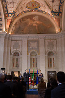 02.10.2019 - Art & Politics: US Secretary of State Mike Pompeo Meets Luigi Di Maio At Villa Madama