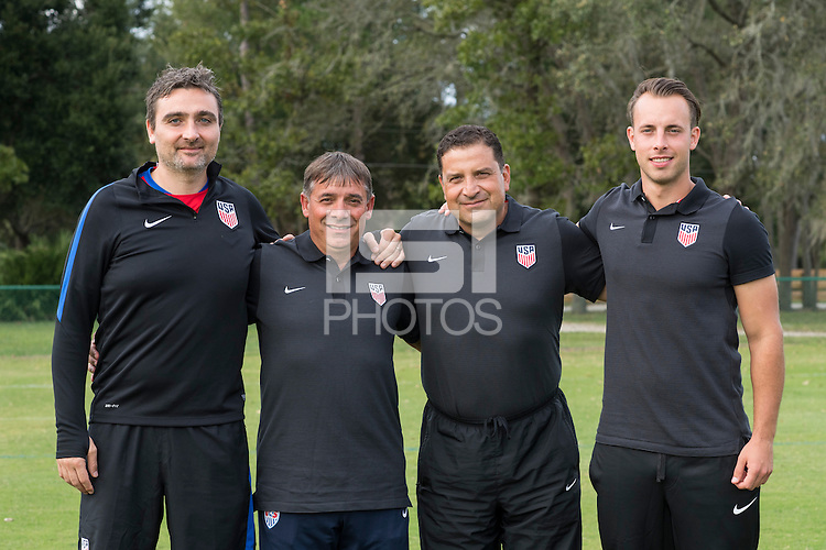 Orlando, FL - Friday Oct. 14, 2016:   Staff picture during a US Soccer Coaching Clinic in Orlando, Florida.