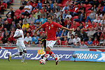 Wales' Joe Ledley during the International Friendly between Wales and Luxembourg at Parc y Scarlets in LLanelli..