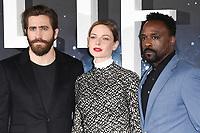 "Jake Gyllenhaal, Rebecca Ferguson and Ariyon Bakare<br /> at the photocall for the film ""Life"", Corinthia Hotel, London.<br /> <br /> <br /> ©Ash Knotek  D3242  16/03/2017"