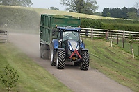 3-6-2021 Contractors carting grass silage <br /> ©Tim Scrivener Photographer 07850 303986<br />      ....Covering Agriculture In The UK....