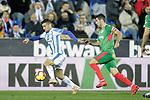 CD Leganes' Oscar Rodriguez Arnaiz (L) and Deportivo Alaves' Ximo Navarro during La Liga match. November 23,2018. (ALTERPHOTOS/Alconada)