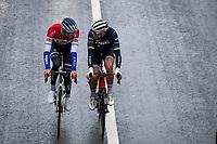 formadable (former) rainbow power hookup in the neutralised section<br /> <br /> 106th Liège-Bastogne-Liège 2020 (1.UWT)<br /> 1 day race from Liège to Liège (257km)<br /> <br /> ©kramon