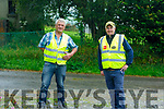 Stewards Paddy Weir and Mike Parker at the Everesting Challenge in Kilflynn on Sunday