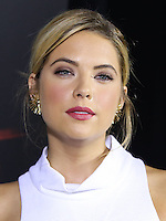 HOLLYWOOD, LOS ANGELES, CA, USA - MAY 31: Actress Ashley Benson arrives at the 'Pretty Little Liars' 100th Episode Celebration held at W Hotel Hollywood on May 31, 2014 in Hollywood, Los Angeles, California, United States. (Photo by Xavier Collin/Celebrity Monitor)