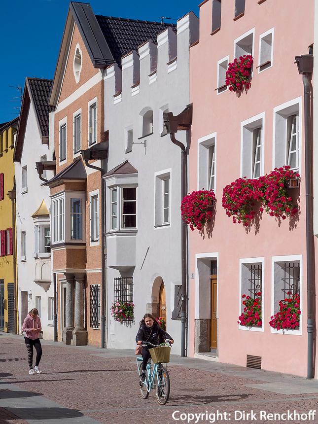 Altstadt von Bruneck, Region Südtirol-Bozen, Italien, Europa<br /> historic centre of Bruneck, Region South Tyrol-Bolzano, Italy, Europe