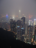 View of Central & Kowloon from Victoria Peak, Hong Kong
