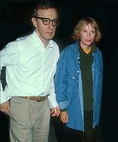 Woody Allen Mia Farrow, 1993, Photo By Michael Ferguson/PHOTOlink / MediaPunch