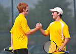Mountain View High tennis - No. 1 singles and doubles