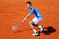 29-5-06,France, Paris, Tennis , Roland Garros,Wang in his  first round match