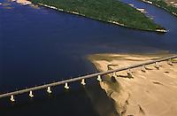 ponte sobre o rio Branco em Boa Vista - Roraima