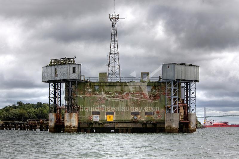 Naval Undersea Warfare Center, torpedo station on Goat island Newport, Rhode Island.