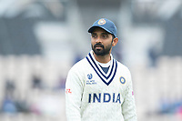 Ajinkya Rahane, India during India vs New Zealand, ICC World Test Championship Final Cricket at The Hampshire Bowl on 20th June 2021