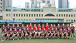 Hong Kong team poses for official photography during the Day 3 of the IRB Junior World Rugby Trophy 2014 at the Hong Kong Football Club on April 15, 2014 in Hong Kong, China. Photo by Xaume Olleros / Power Sport Images