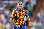 Rodrigo Moreno of Valencia CF reacts during their La Liga 2017-18 match between Real Madrid and Valencia CF at the Estadio Santiago Bernabeu on 27 August 2017 in Madrid, Spain. Photo by Diego Gonzalez / Power Sport Images