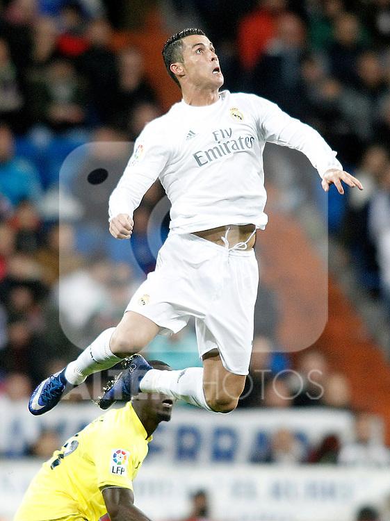 Real Madrid's Cristiano Ronaldo during La Liga match. April 20,2016. (ALTERPHOTOS/Acero)