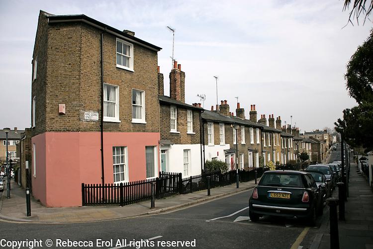 King George Street, Greenwich, London, UK