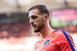 Goalkeeper Jan Oblak of Atletico de Madrid is seen prior to the La Liga 2018-19 match between Atletico de Madrid and Rayo Vallecano at Wanda Metropolitano on August 25 2018 in Madrid, Spain. Photo by Diego Souto / Power Sport Images