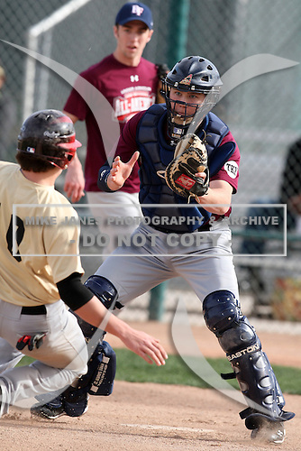 January 17, 2010:  Austin Jones (Edmonds, WA) of the Baseball Factory North Team during the 2010 Under Armour Pre-Season All-America Tournament at Kino Sports Complex in Tucson, AZ.  Photo By Mike Janes/Four Seam Images