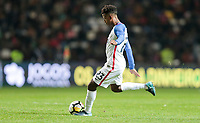 Leiria, Portugal - Tuesday November 14, 2017: Kellyn Acosta during an International friendly match between the United States (USA) and Portugal (POR) at Estádio Dr. Magalhães Pessoa.