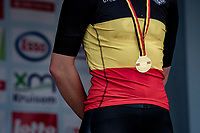 Lotte Kopecky (BEL/Liv Racing) wins her 2nd consecutive National Women's Title in the road race, only a few days after also becoming the national TT champion<br /> <br /> Belgian National Championships 2021 - Road Race<br /> <br /> One day race from Waregem to Waregem (122km)<br /> <br /> ©kramon