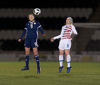 Paisley, Scotland - November 12, 2018:  The USWNT defeated Scotland 1-0 at St Mirren Park.