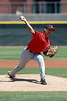 Dan Denham - Los Angeles Angels - 2009 spring training.Photo by:  Bill Mitchell/Four Seam Images