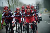Paris-Roubaix 2012 recon..George Hincapie & Thor Hushovd; Roubaix Classics themselves