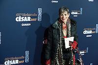 Isabelle Morini Bosc ‡ la 42e CÈrÈmonie des CÈsars ‡ l'arrivÈe sur le tapis rouge de la salle Pleyel ‡ Paris le 24 fÈvrier 2017