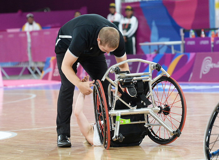 Lima 2019 - Wheelchair Basketball // Basketball en fauteuil roulant.<br />