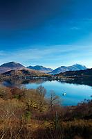 Loch Shieldaig, Shieldaig and the mountains of Torridon, Ross & Cromarty, Northwest Highlands