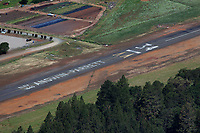 aerial photograph of Angwin-Parrett Field airport (2O3), Angwin, Napa County, California