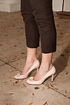 November 27, 2012. Charleston, South Carolina.. The Kate Spade shoes of Alexa Wyatt.. Alexa Wyatt, 23, is an Event Coordinator with Southern Protocol, a boutique wedding and event planning company in Charleston, SC..