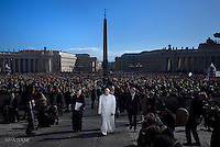 Pope Francis special Jubilee Audience at Saint Peter's Square at the Vatican on February. 20, 2016