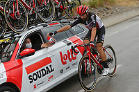 29th August 2020, Nice, France;  DE GENDT Thomas (BEL) of LOTTO SOUDAL during stage 1 of the 107th edition of the 2020 Tour de France cycling race, a stage of 156 kms with start in Nice Moyen Pays and finish in Nice