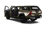 Car images of 2021 Toyota Hilux Invincible 4 Door Pick-up Doors