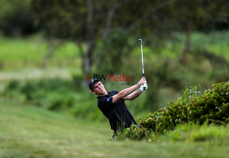 Kerry Mountcastle of New Zealand during the Asia Pacific Amateur Golf Championship Round Four, Royal Wellington Golf Course, Wellington, New Zealand, 29 October2017.  Photo: Simon Watts/www.bwmedia.co.nz
