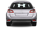 Straight rear view of a 2015 Peugeot 508 RXH 5 Door Wagon 2WD Rear View  stock images