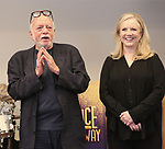 Hal Prince and Susan Stroman attends the Meet & Greet for the Manhattan Theatre Club's Broadway Premiere of 'Prince of Broadway' at the MTC Studios on July 20, 2017 in New York City.