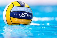 Official Ball<br /> KapSeven <br /> Budapest 16/01/2020 Duna Arena <br /> France (white caps) Vs. Italy (blue caps) Men<br /> XXXIV LEN European Water Polo Championships 2020<br /> Photo  ©Giorgio Scala / Deepbluemedia / Insidefoto
