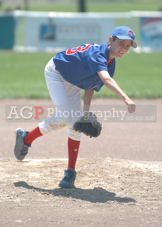 The Pleasanton National Little League Major Cubs in Pleasanton, California May 30, 2009.