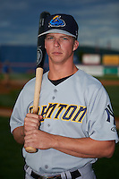 Trenton Thunder second basmean Tony Renda (9) poses for a photo before a game against the Binghamton Mets on August 8, 2015 at NYSEG Stadium in Binghamton, New York.  Trenton defeated Binghamton 4-2.  (Mike Janes/Four Seam Images)